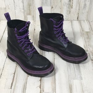 Doc Martens Vintage Pascal Combat Boot Lace Up